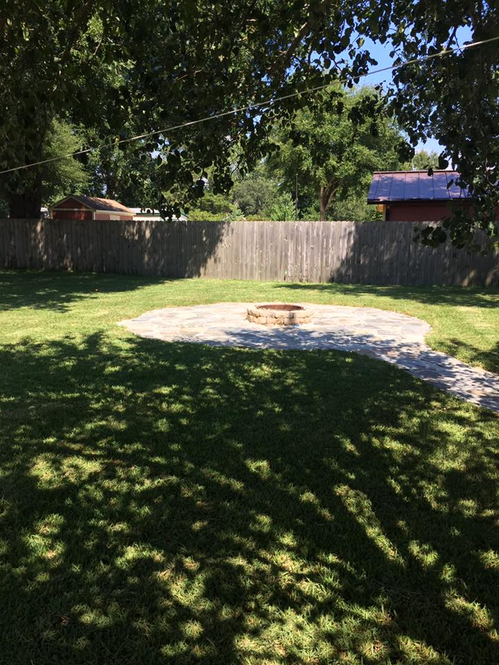 backyard fire pit installation destin fl